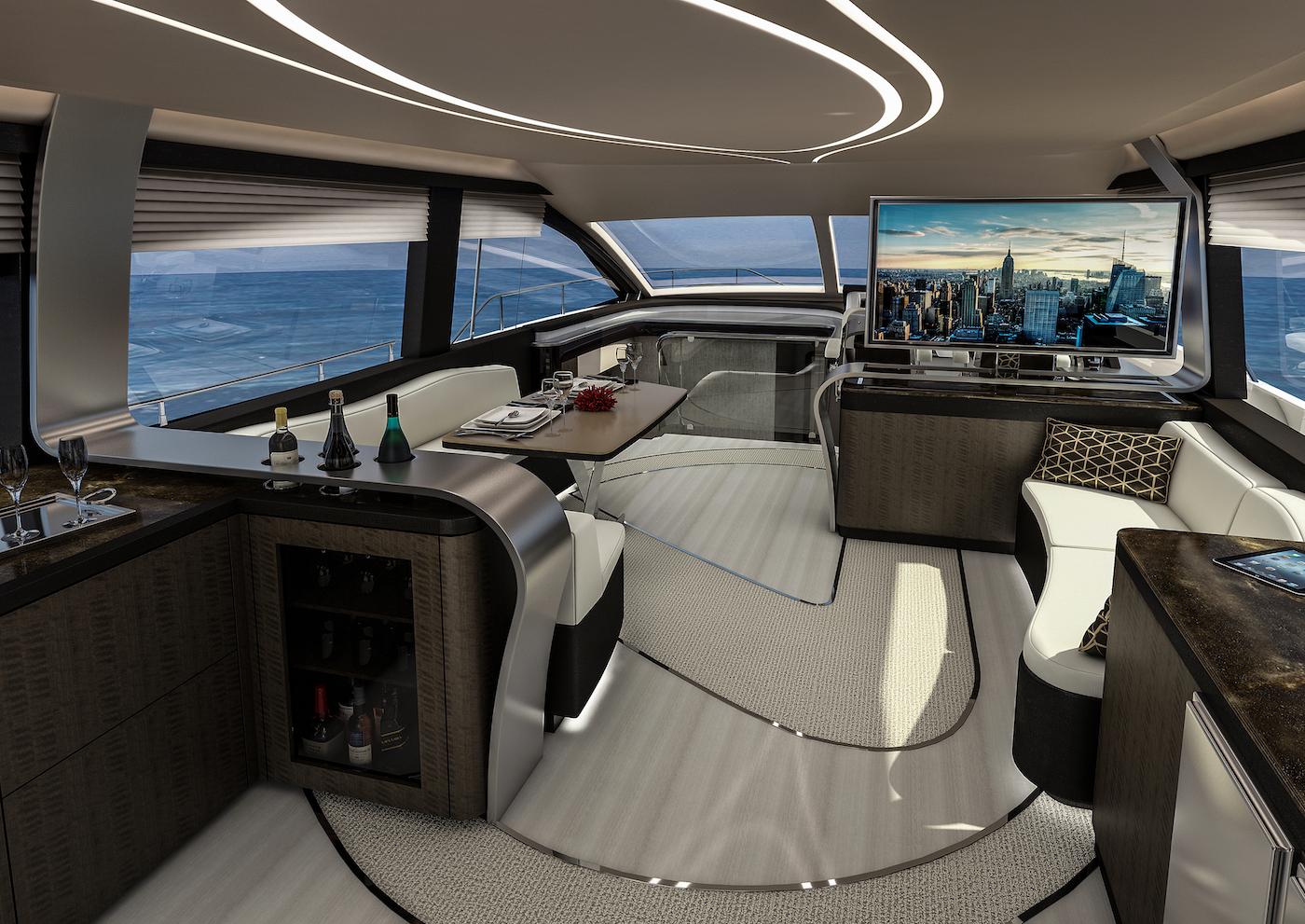 Die Lexus Yacht LY 650: Eine Königin der Wasserstraßen 2