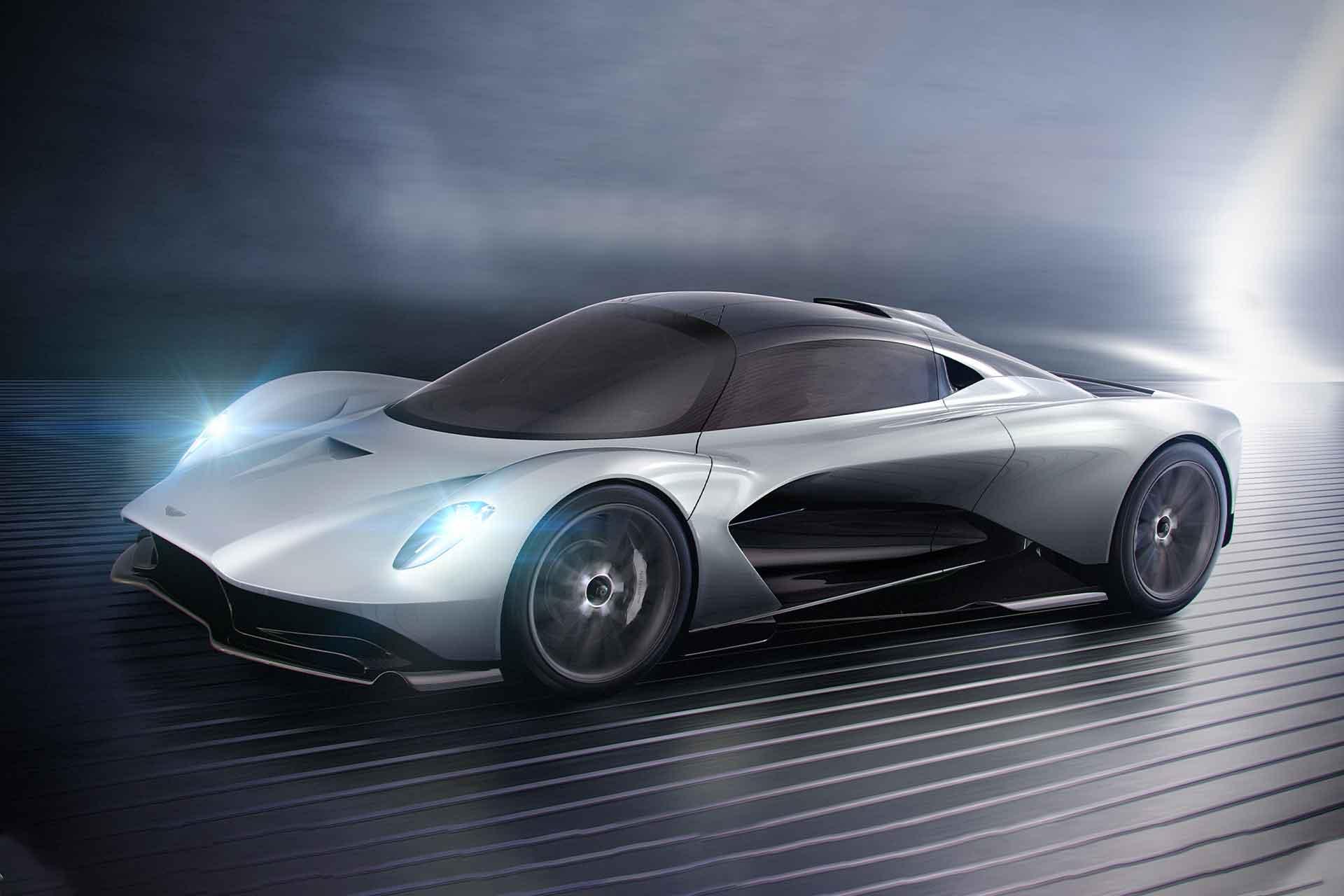 Der Aston Martin Valhalla: 1 Mio € teuer und 1.000 PS stark 1