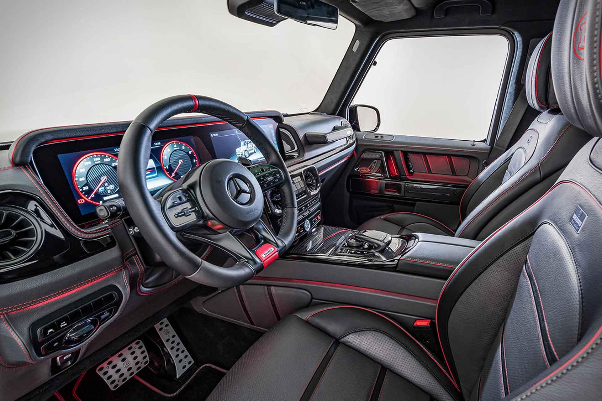 Der Brabus Black OPS 800 SUV auf Basis des Mercedes-AMG G63 3