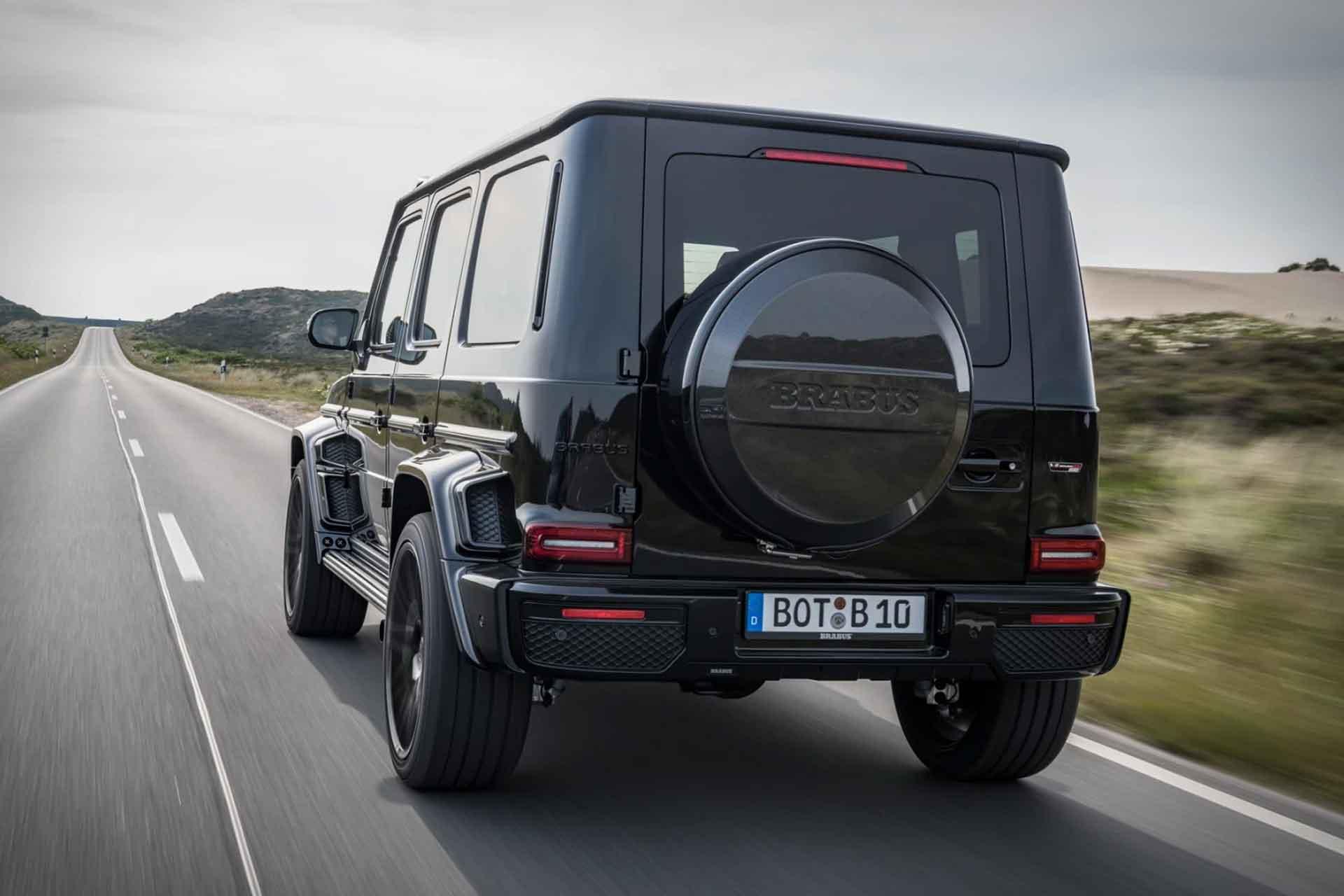 Der Brabus Black OPS 800 SUV auf Basis des Mercedes-AMG G63 2