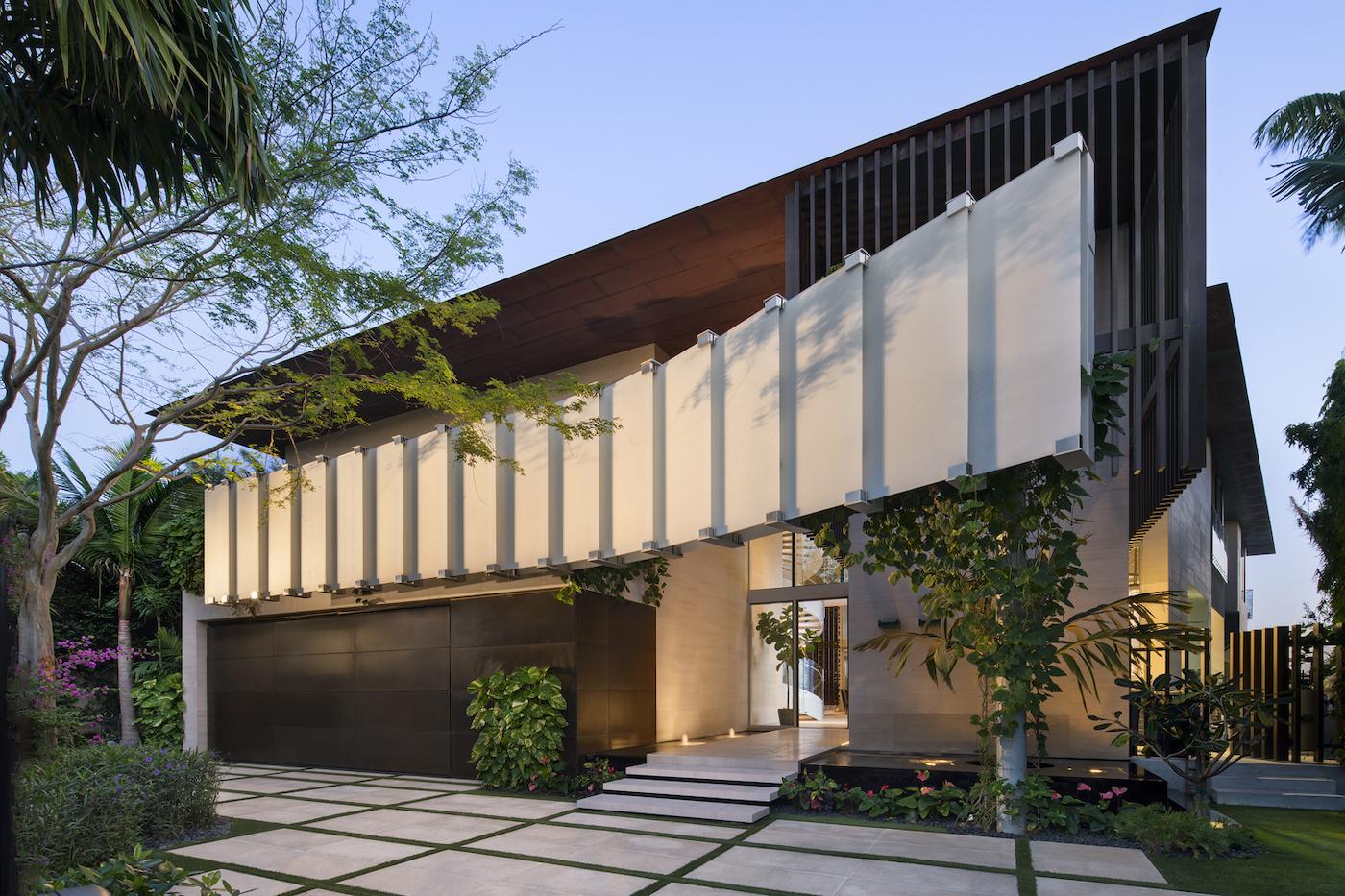 Großzügig, offen und grün: Die Dilido Island Villa von SAOTA in Miami 3