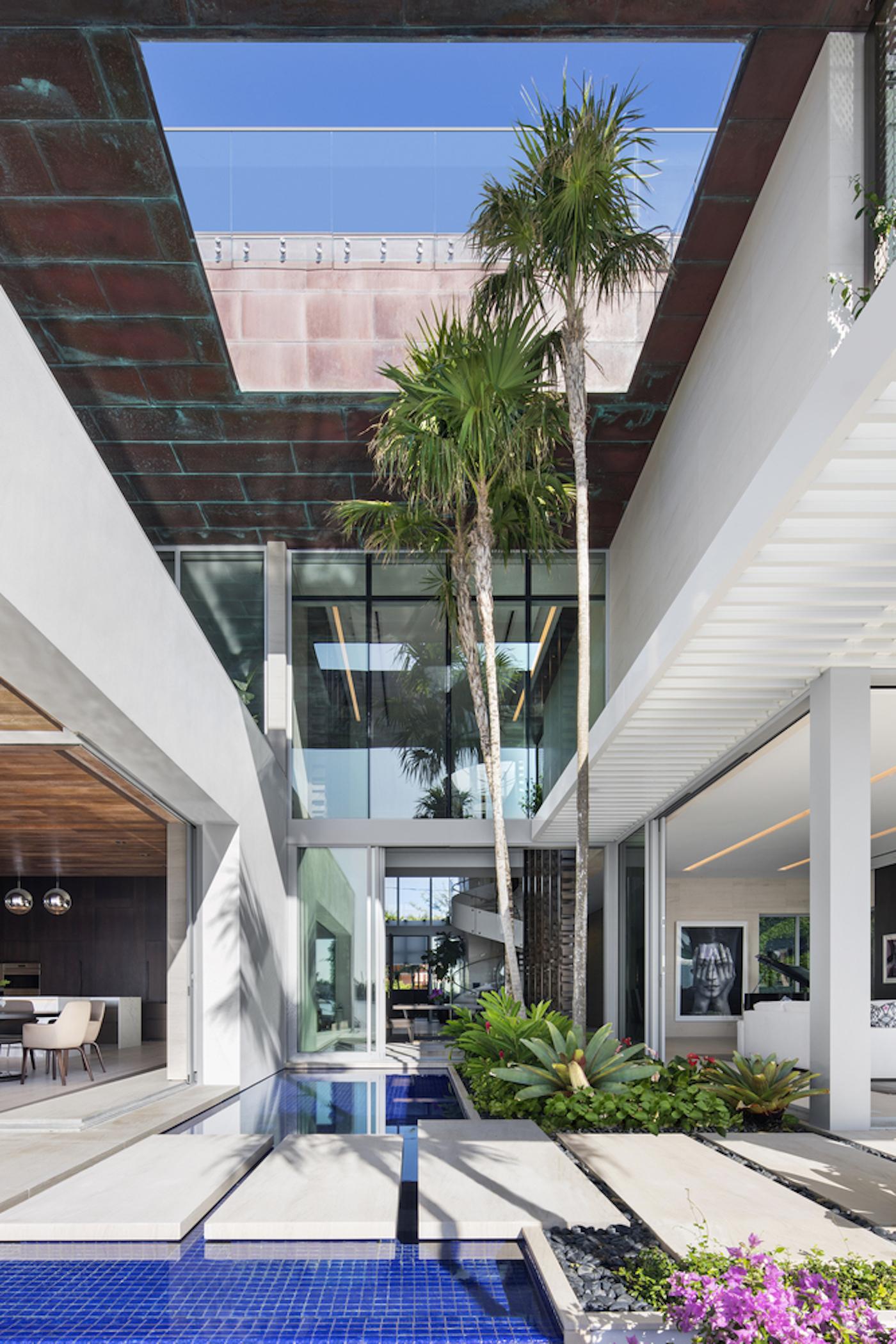 Großzügig, offen und grün: Die Dilido Island Villa von SAOTA in Miami 9