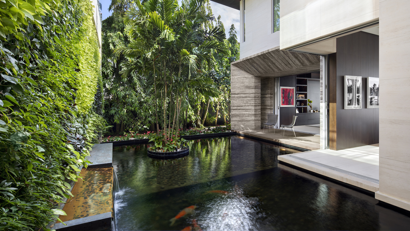 Großzügig, offen und grün: Die Dilido Island Villa von SAOTA in Miami 8