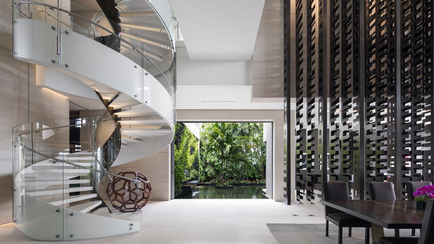 Großzügig, offen und grün: Die Dilido Island Villa von SAOTA in Miami 15
