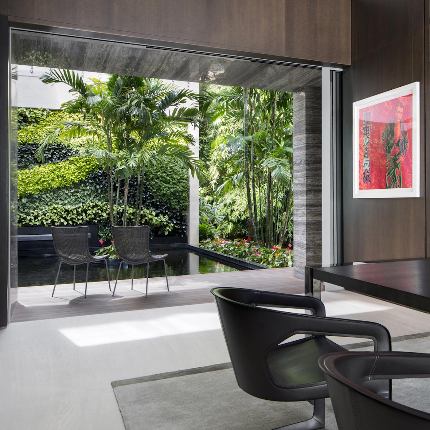 Großzügig, offen und grün: Die Dilido Island Villa von SAOTA in Miami 14