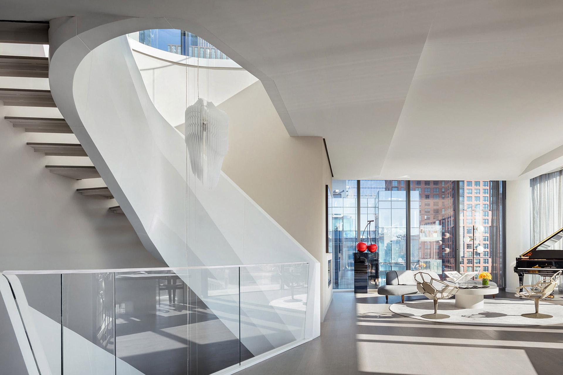Das $48 Millionen Dollar Penthouse in Manhattan von Zaha Hadid 3