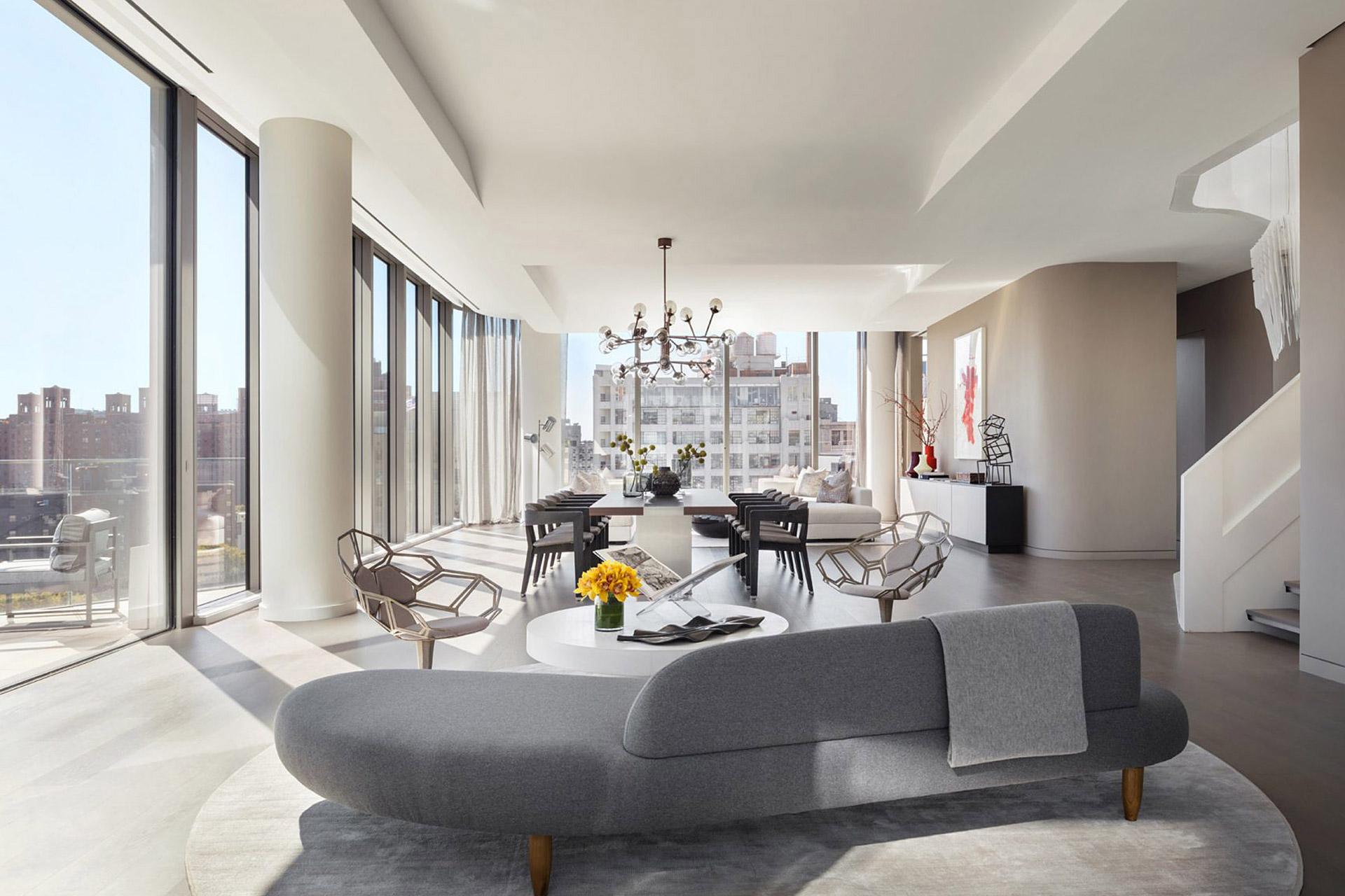 Das $48 Millionen Dollar Penthouse in Manhattan von Zaha Hadid 2