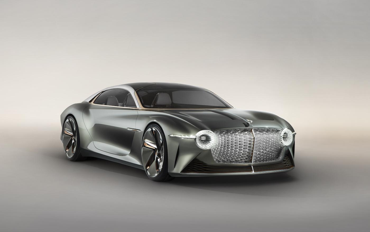 Bentley EXP 100 GT: Luxus-Studie zum 100-jährigen Jubiläum