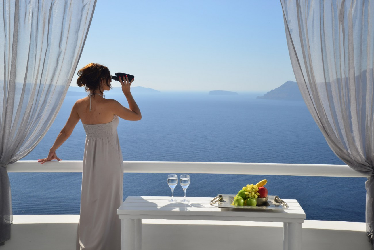 Romantische Oase auf Santorini: Das Oia Castle Luxury Boutique Hotel 1