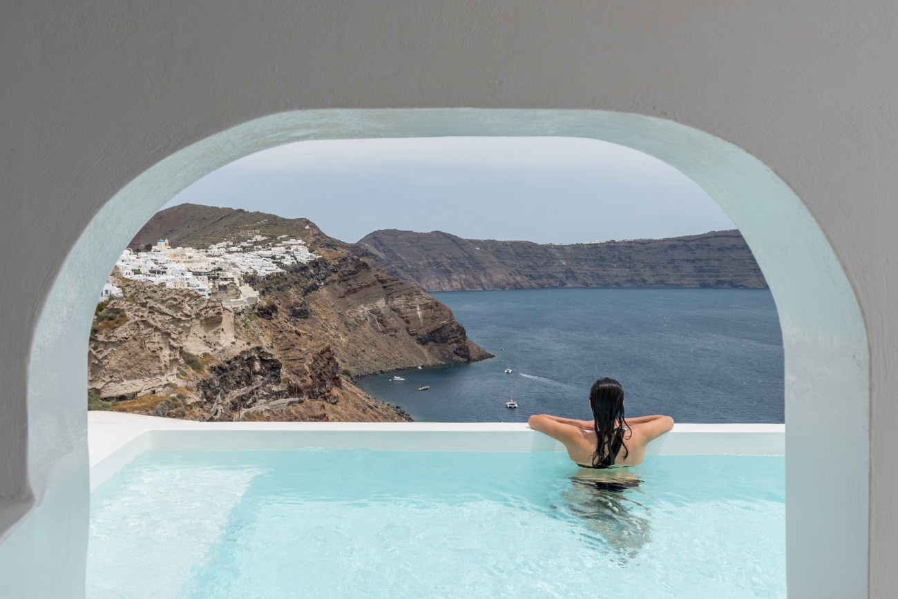 Romantische Oase auf Santorini: Das Oia Castle Luxury Boutique Hotel 14