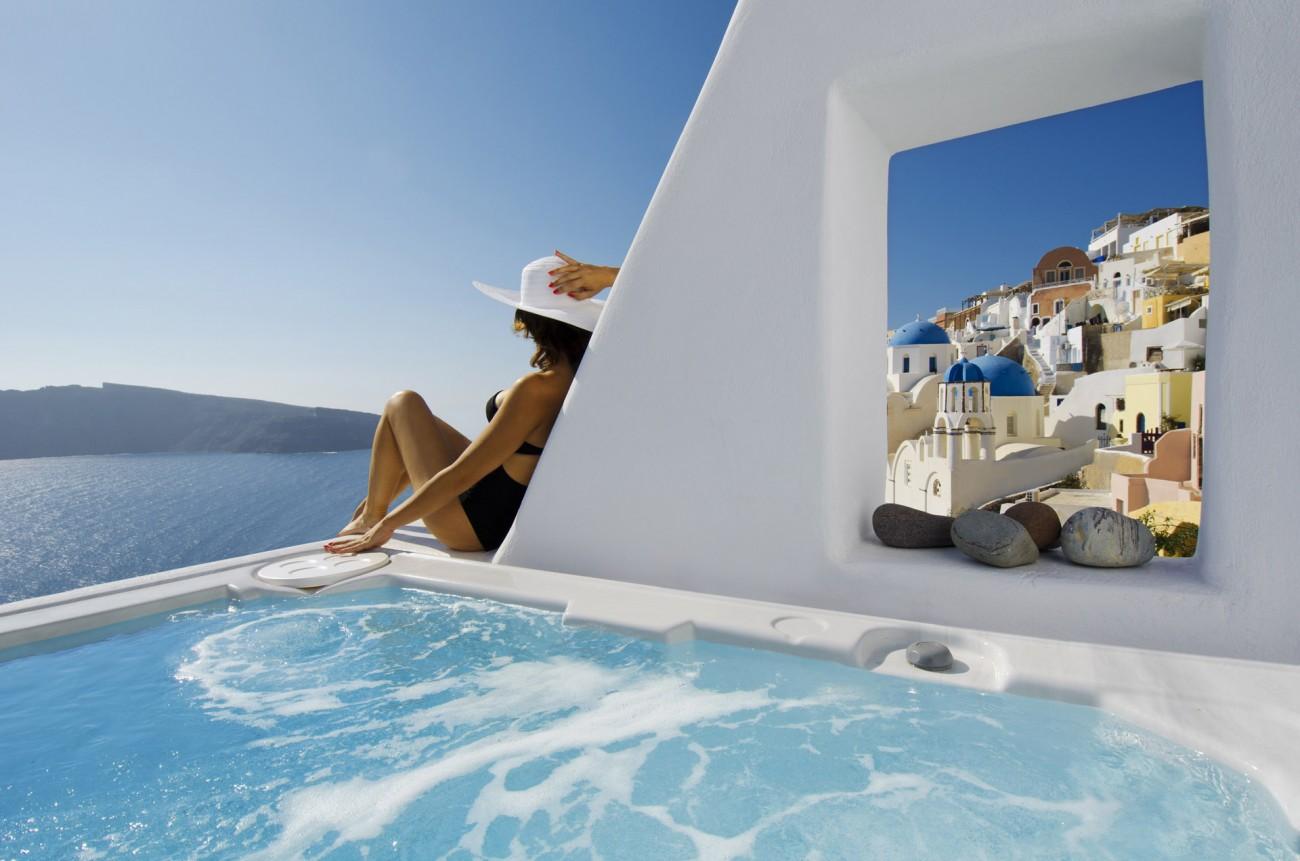 Romantische Oase auf Santorini: Das Oia Castle Luxury Boutique Hotel 2
