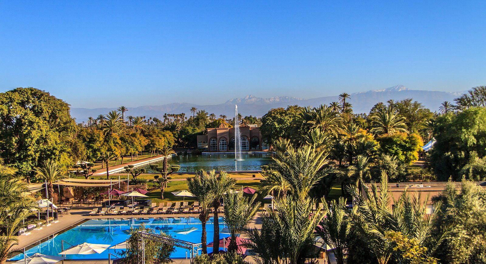Luxus im Orient: Übernachten im Barcelo Palmereaie in Marrakesch