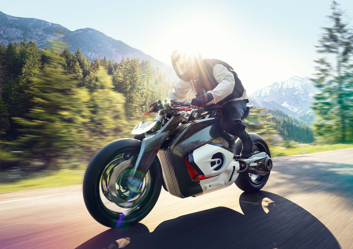 Das elektrische Motorrad der Zukunft: BMW Vision DC Roadster