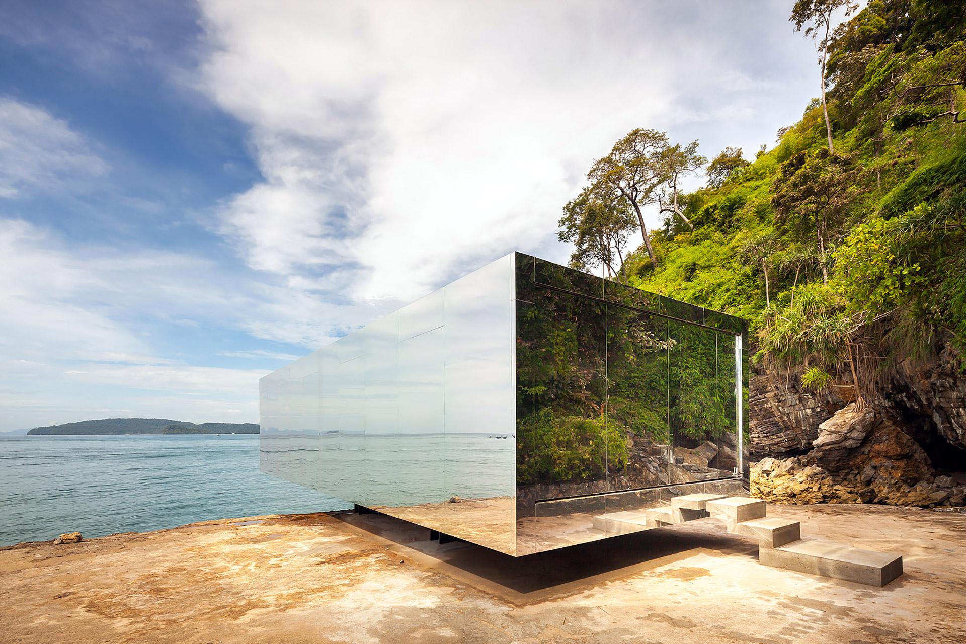 """Der """"No Sunrise – No Sunset"""" Pavilion auf Krabi in Thailand 1"""
