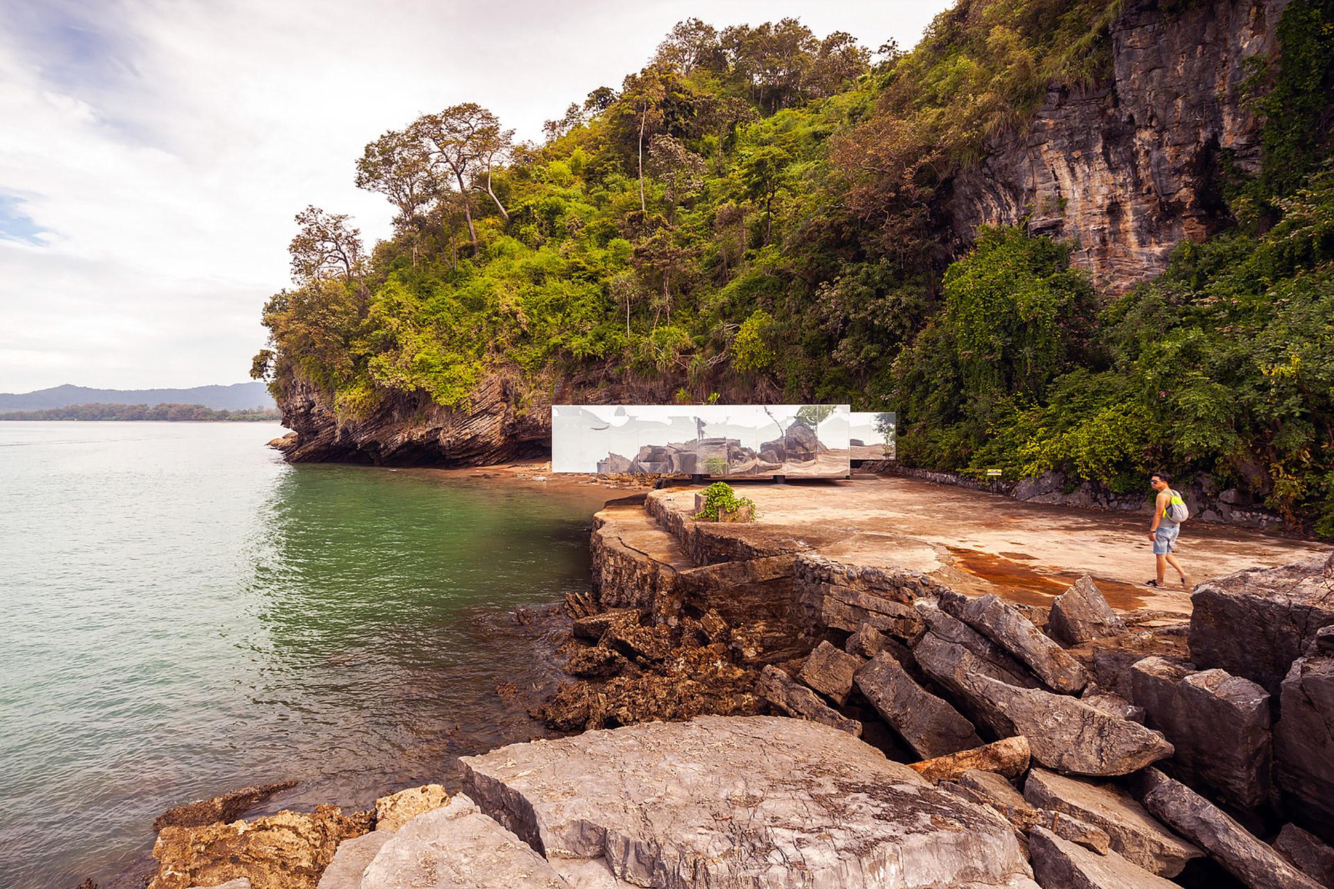 """Der """"No Sunrise – No Sunset"""" Pavilion auf Krabi in Thailand 3"""