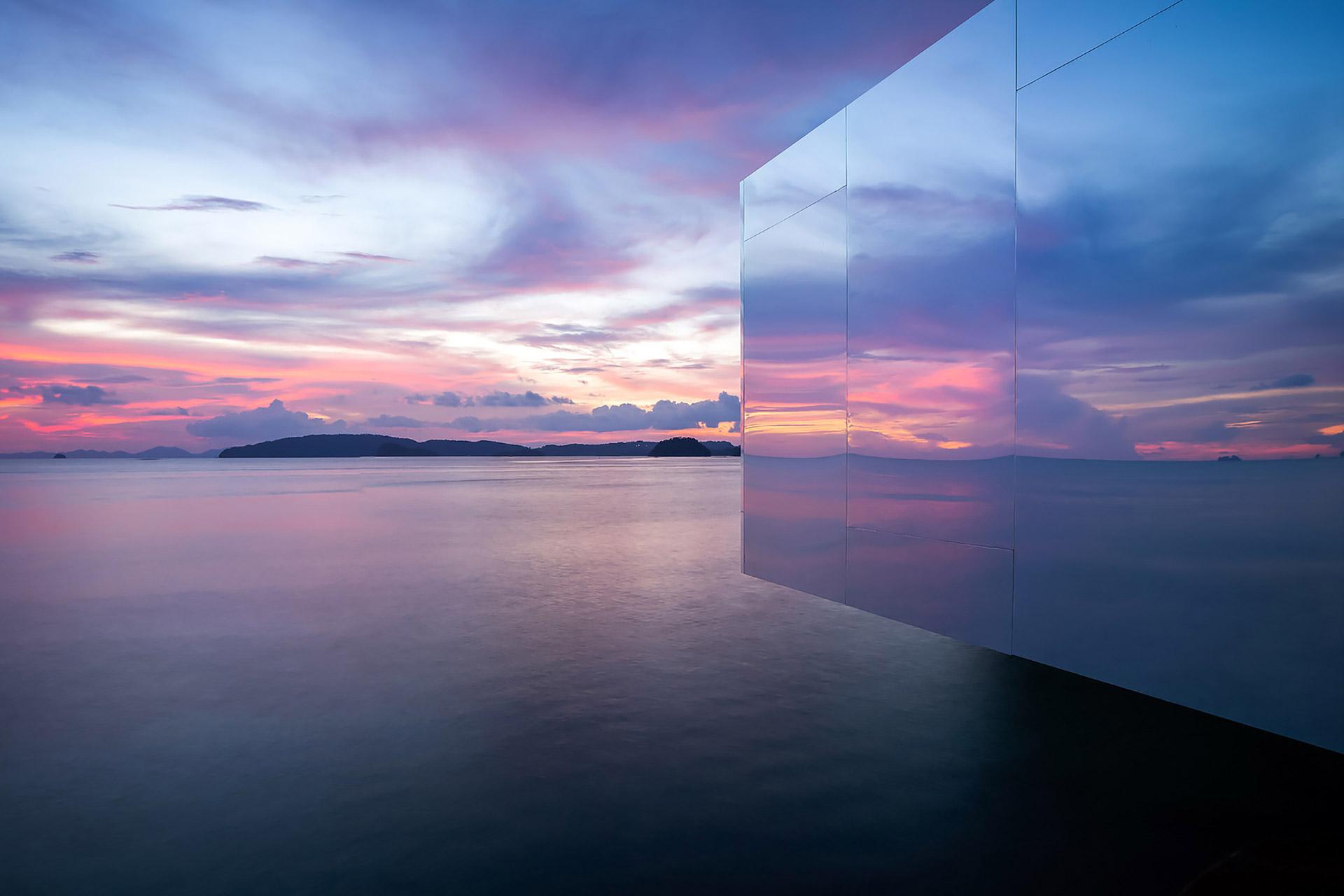 """Der """"No Sunrise – No Sunset"""" Pavilion auf Krabi in Thailand 4"""