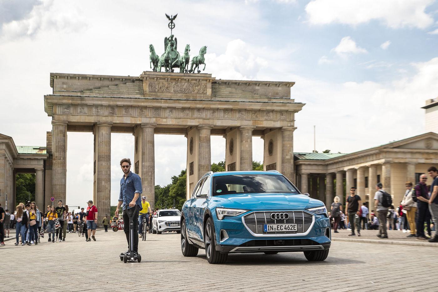 Audis Antwort auf den E-Scooter Trend: Vorsprung durch Cleverness 3