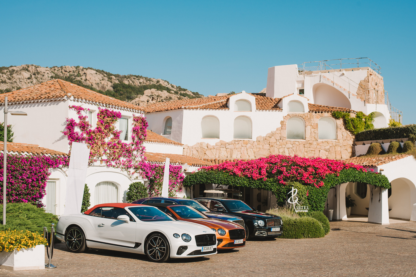 Mit Bentley in Porto Cervo: Die Bentley Summer Tour 2019 2