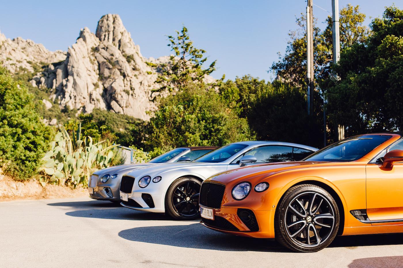Mit Bentley in Porto Cervo: Die Bentley Summer Tour 2019