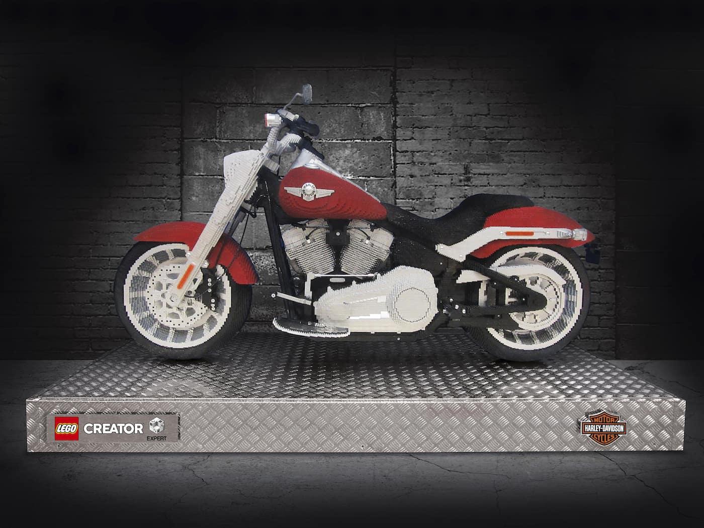 LEGO präsentiert ein neues Harley Davidson Replica Modell zum nachbauen 6