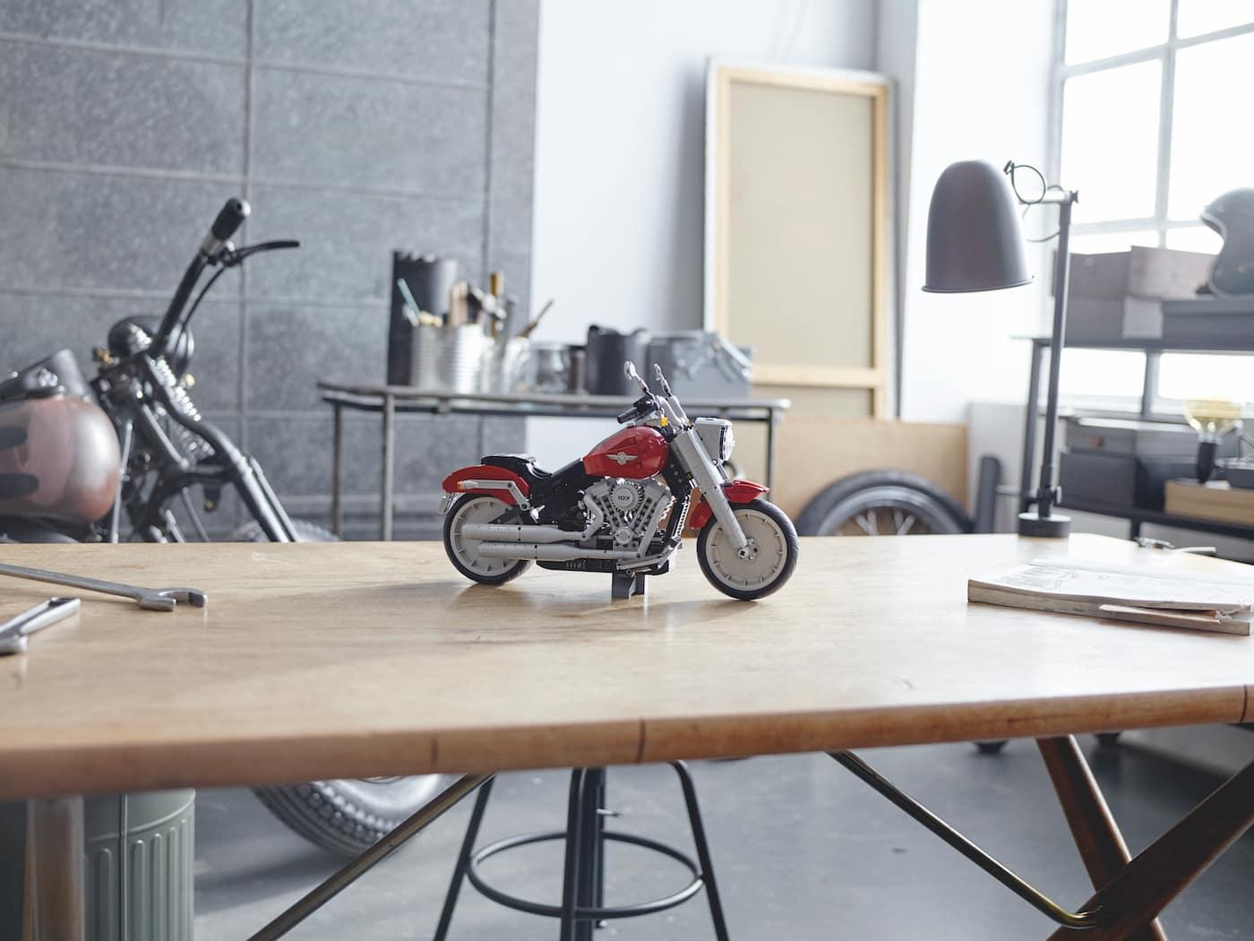 LEGO präsentiert ein neues Harley Davidson Replica Modell zum nachbauen 4