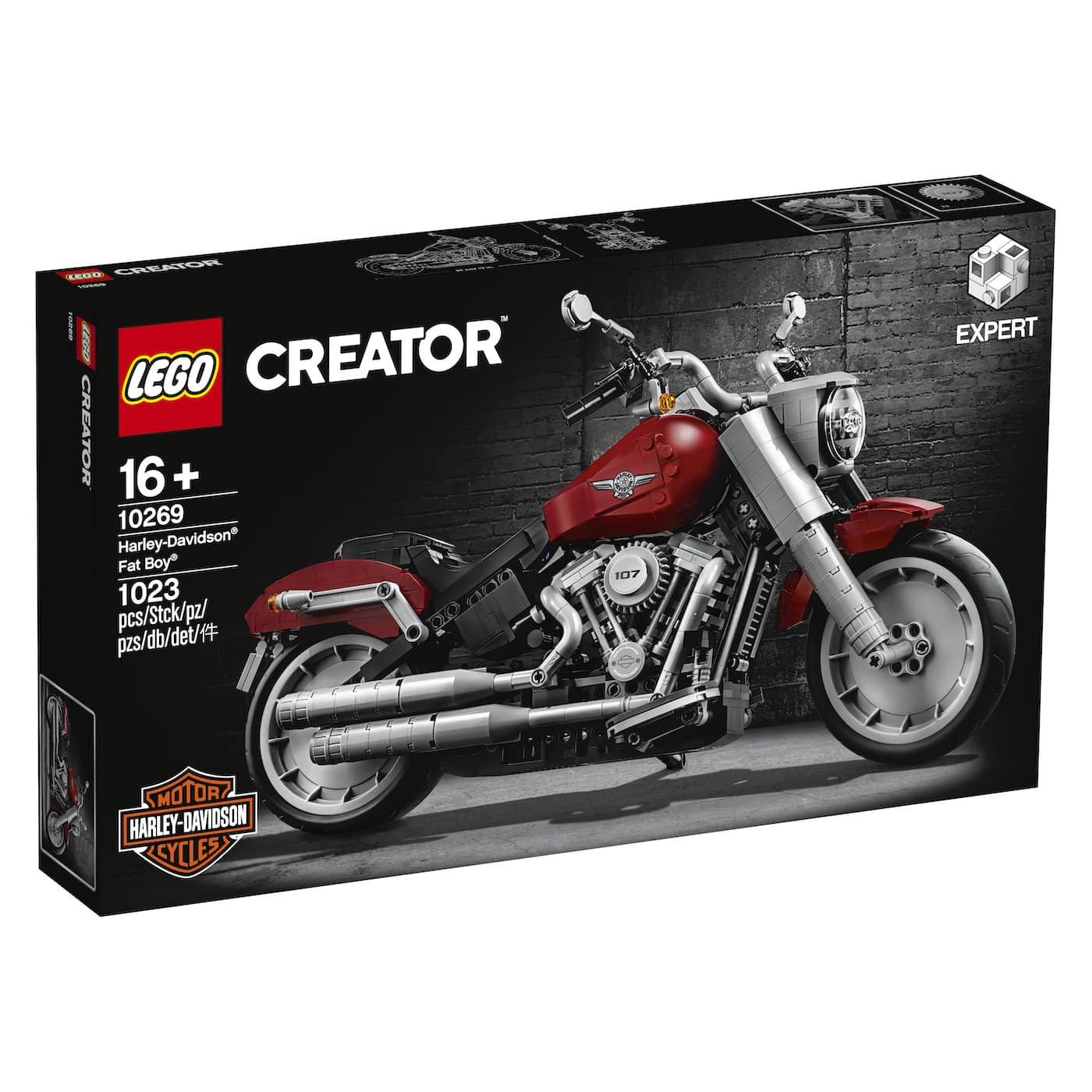 LEGO präsentiert ein neues Harley Davidson Replica Modell zum nachbauen 5