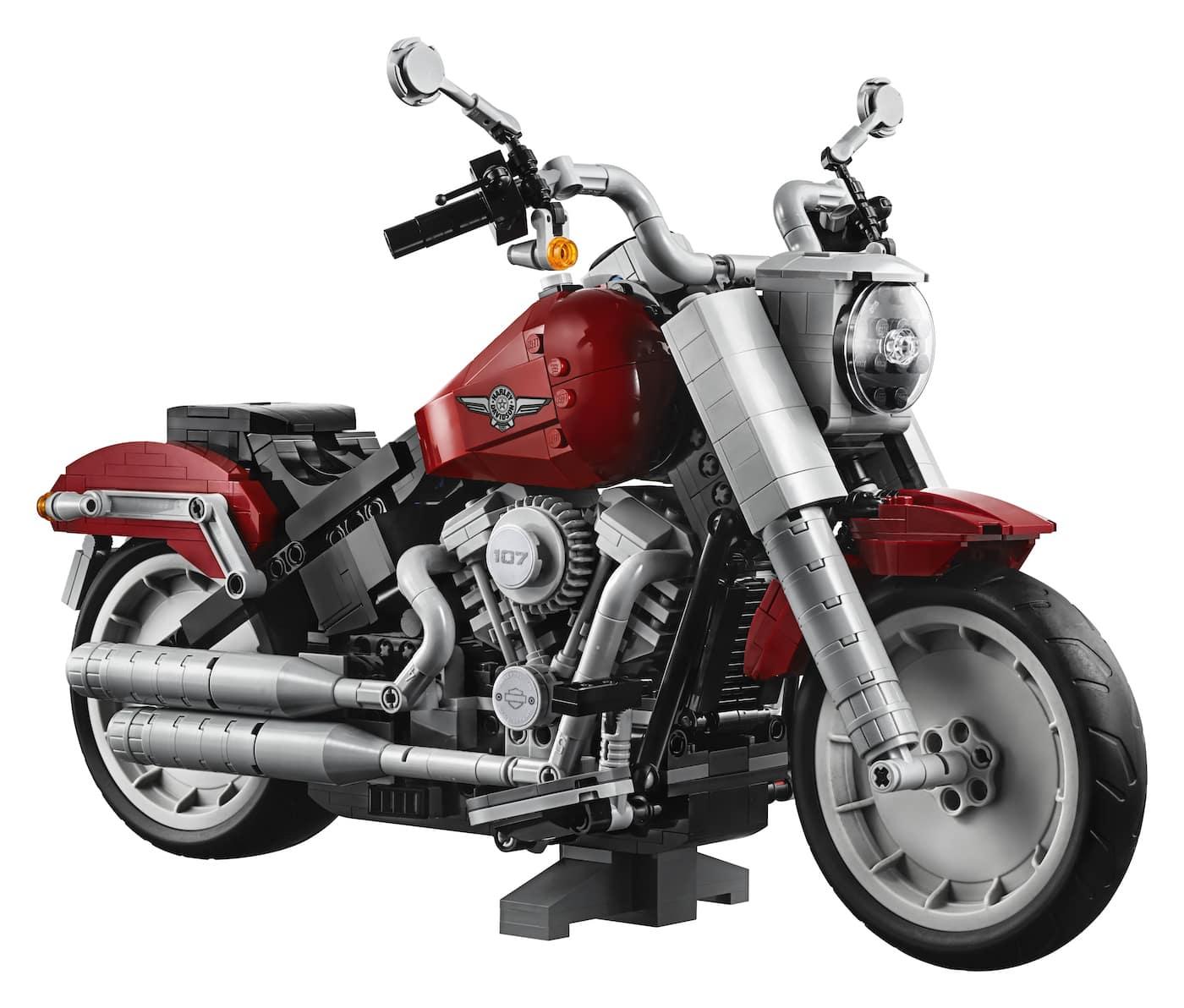 LEGO präsentiert ein neues Harley Davidson Replica Modell zum nachbauen 2
