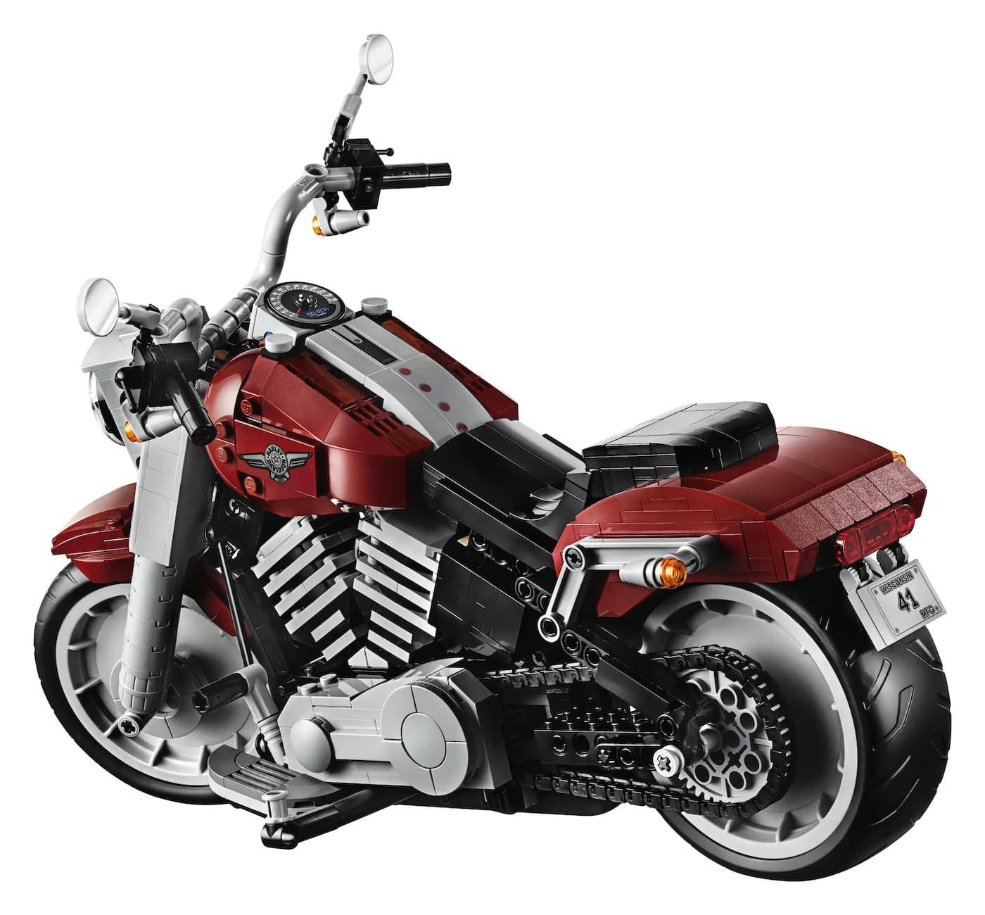 LEGO präsentiert ein neues Harley Davidson Replica Modell zum nachbauen 3