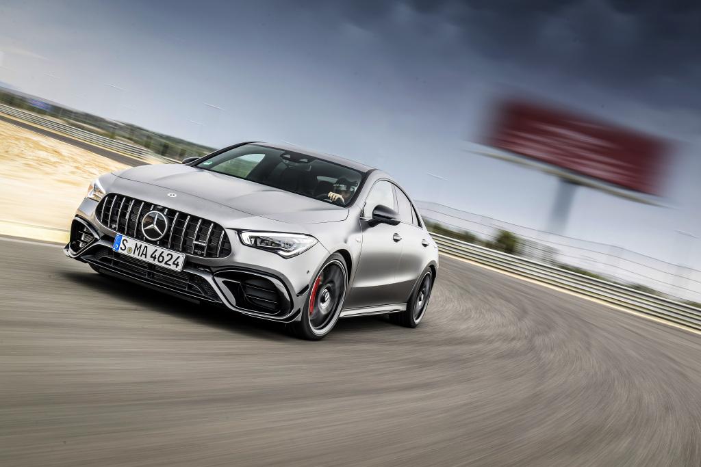Die Super-Sportwagen in der Kompaktklasse: Der neue Mercedes-AMG A45s 4MATIC+ und CLA45s 4MATIC+ 5