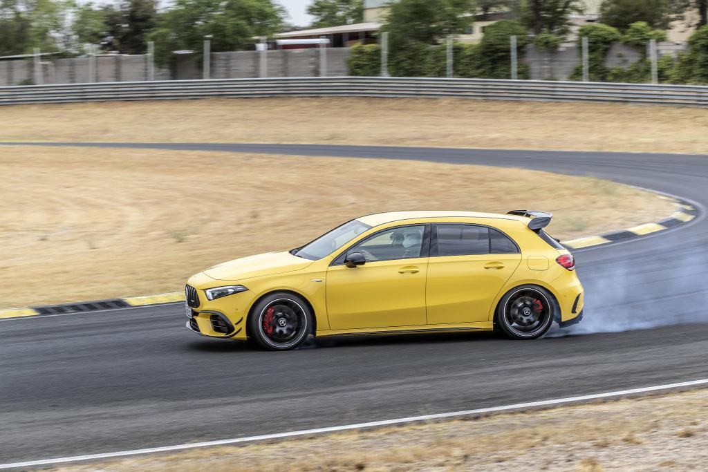 Die Super-Sportwagen in der Kompaktklasse: Der neue Mercedes-AMG A45s 4MATIC+ und CLA45s 4MATIC+ 7