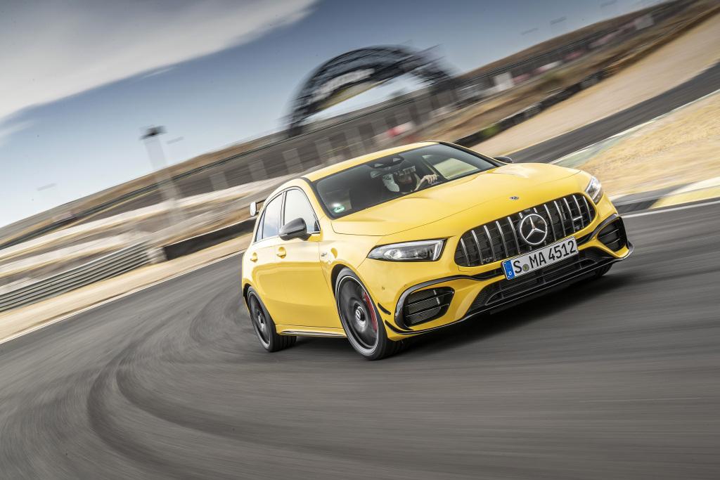 Die Super-Sportwagen in der Kompaktklasse: Der neue Mercedes-AMG A45s 4MATIC+ und CLA45s 4MATIC+ 3