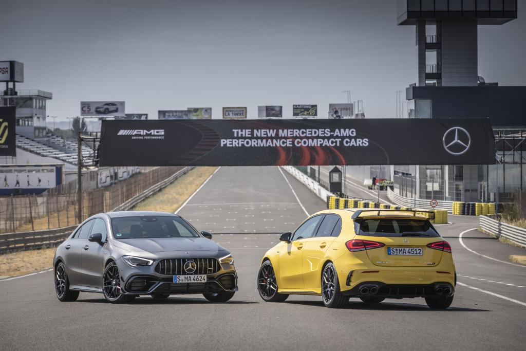 Die Super-Sportwagen in der Kompaktklasse: Der neue Mercedes-AMG A45s 4MATIC+ und CLA45s 4MATIC+ 1