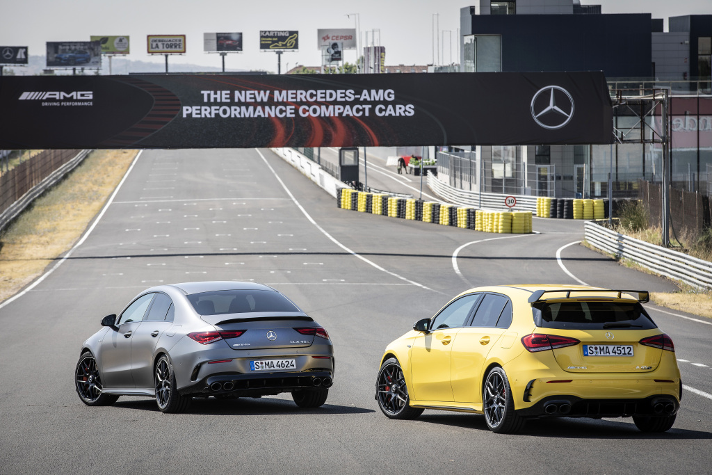 Die Super-Sportwagen in der Kompaktklasse: Der neue Mercedes-AMG A45s 4MATIC+ und CLA45s 4MATIC+ 2