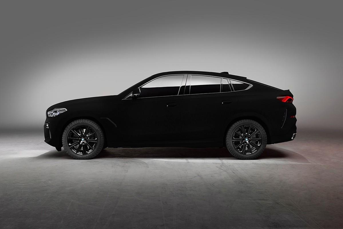 Der BMW X6 in Vantablack: Das dunkelste Auto der Welt 2