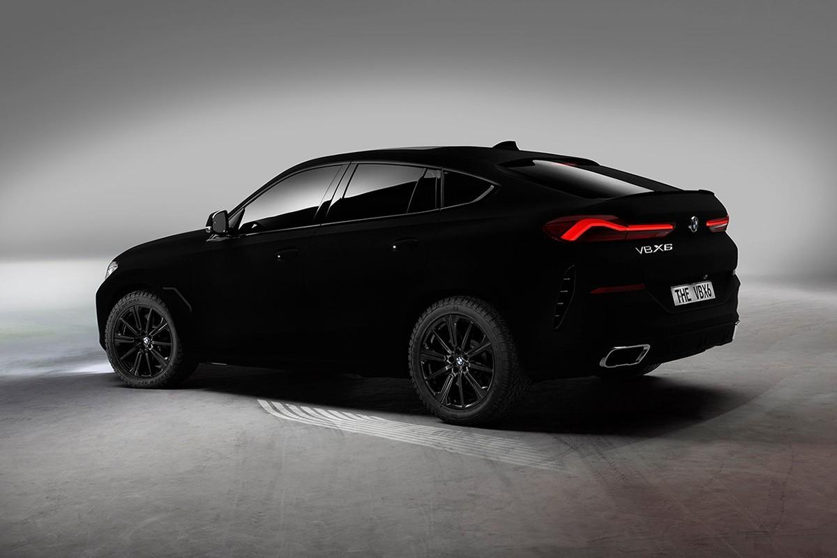 Der BMW X6 in Vantablack: Das dunkelste Auto der Welt 4