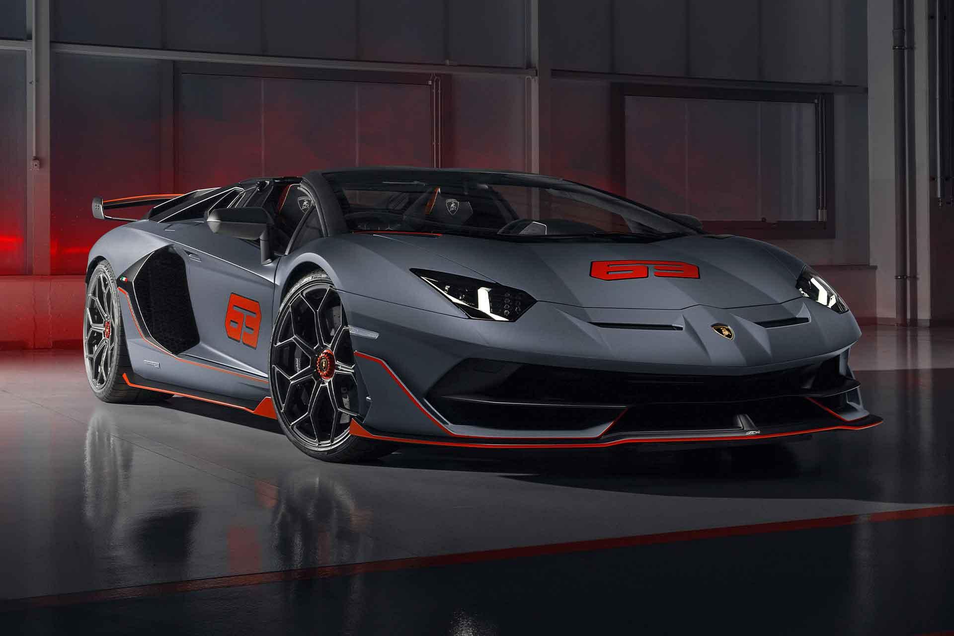 Sondermodell für Sammler: Der Lamborghini Aventador SVJ 63 Roadster 1