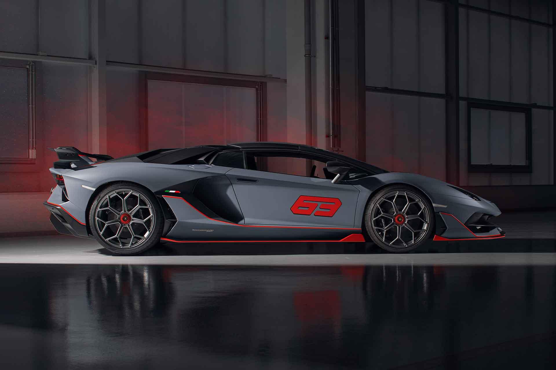 Sondermodell für Sammler: Der Lamborghini Aventador SVJ 63 Roadster 2