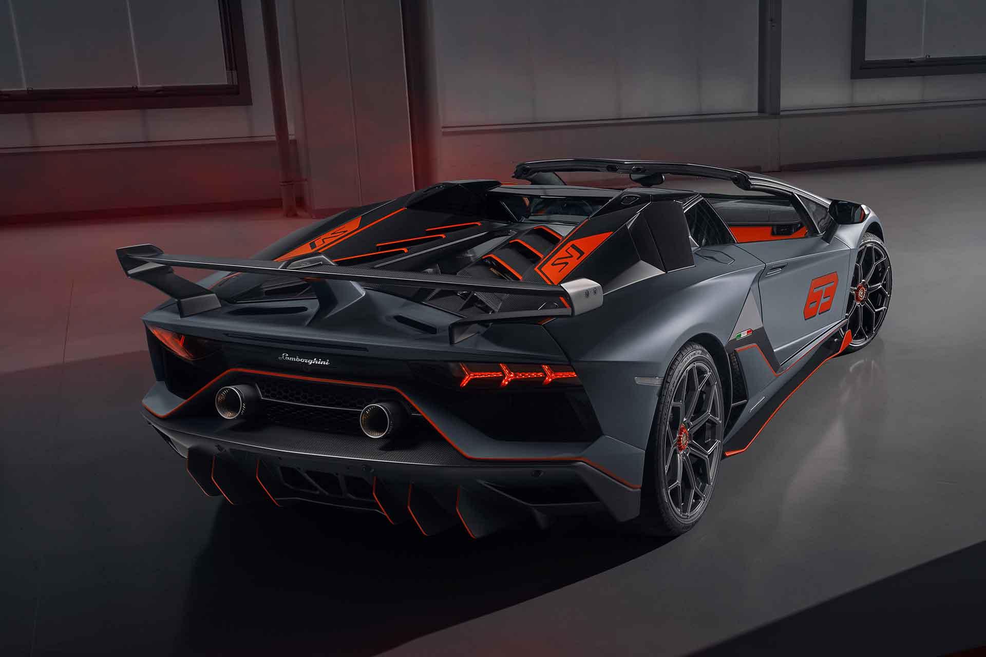 Sondermodell für Sammler: Der Lamborghini Aventador SVJ 63 Roadster 4