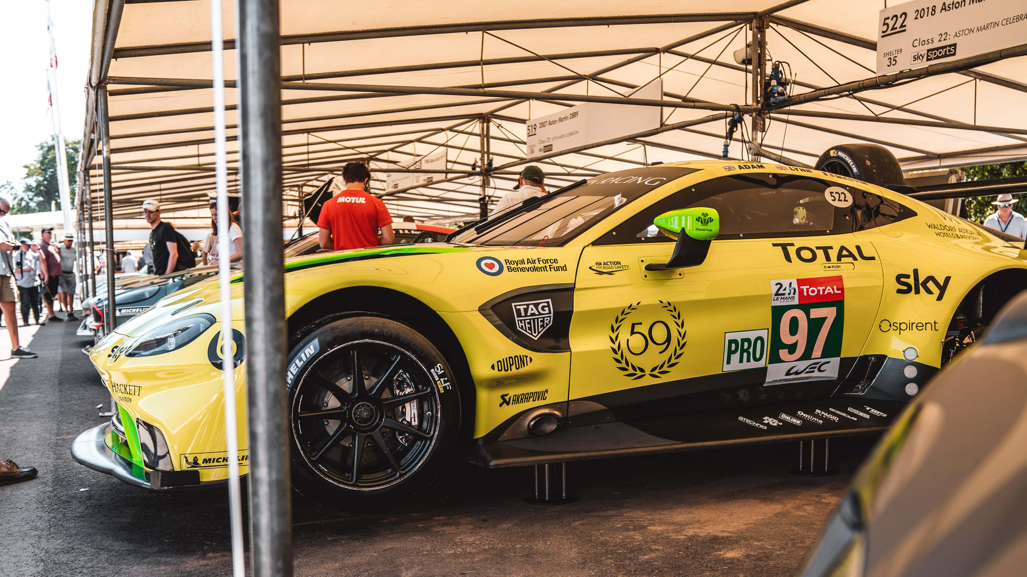 Im Rausch der Geschwindigkeit: Zu Besuch beim Goodwood Festival of Speed mit Michelin 6