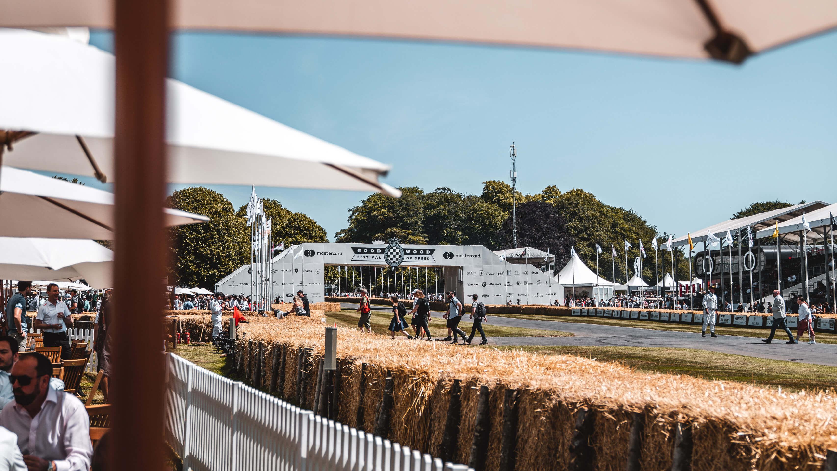 Im Rausch der Geschwindigkeit: Zu Besuch beim Goodwood Festival of Speed mit Michelin 3
