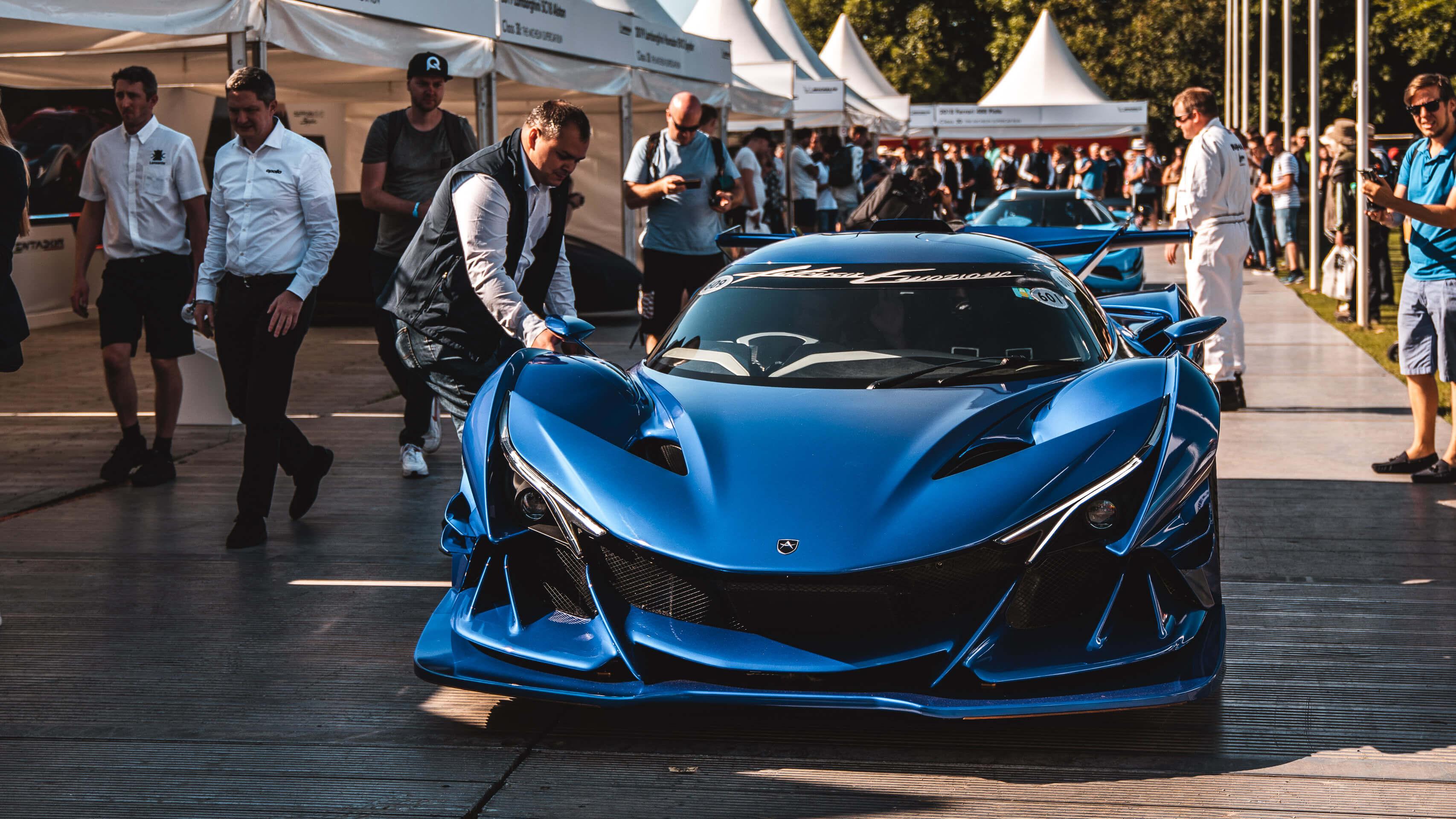 Im Rausch der Geschwindigkeit: Zu Besuch beim Goodwood Festival of Speed mit Michelin 2