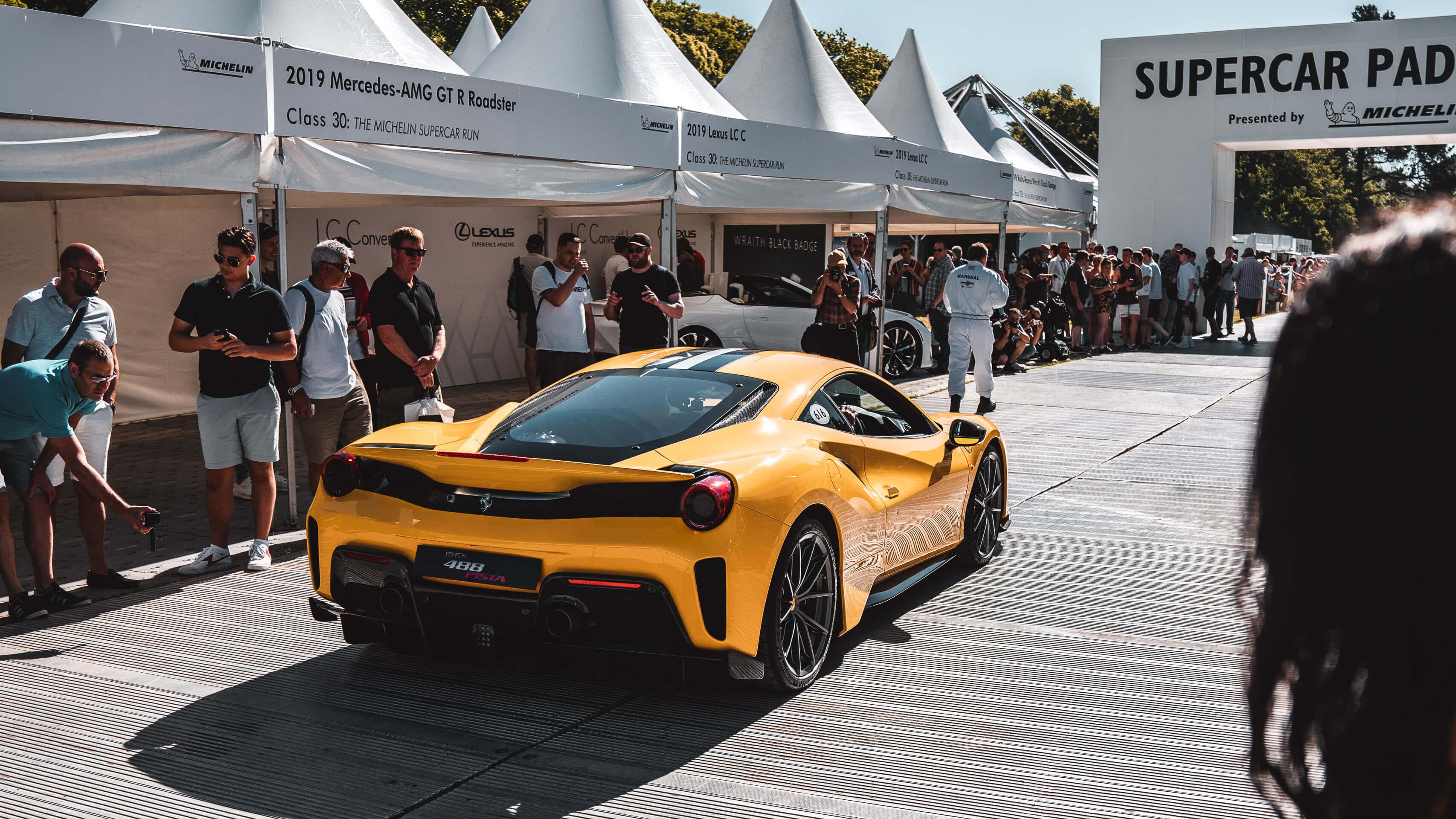 Im Rausch der Geschwindigkeit: Zu Besuch beim Goodwood Festival of Speed mit Michelin 1
