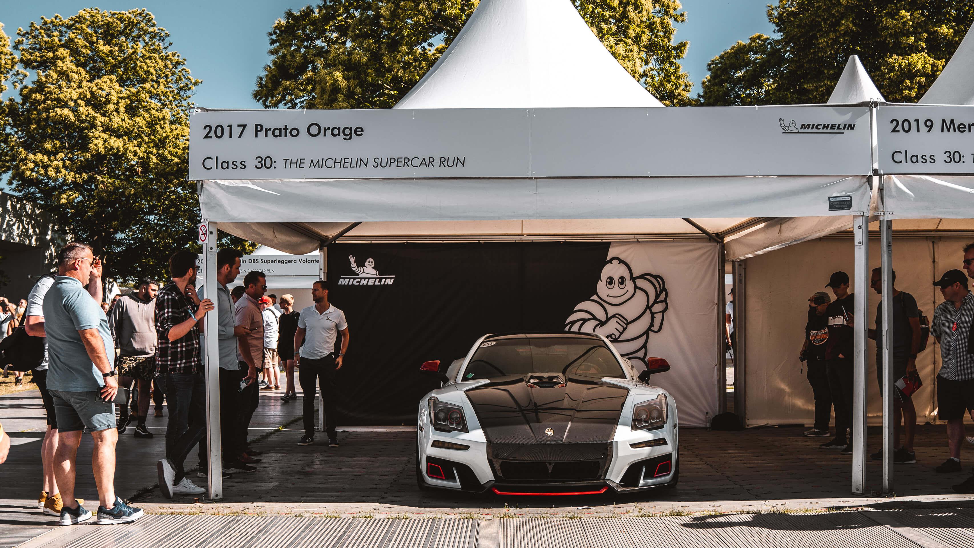 Im Rausch der Geschwindigkeit: Zu Besuch beim Goodwood Festival of Speed mit Michelin 7