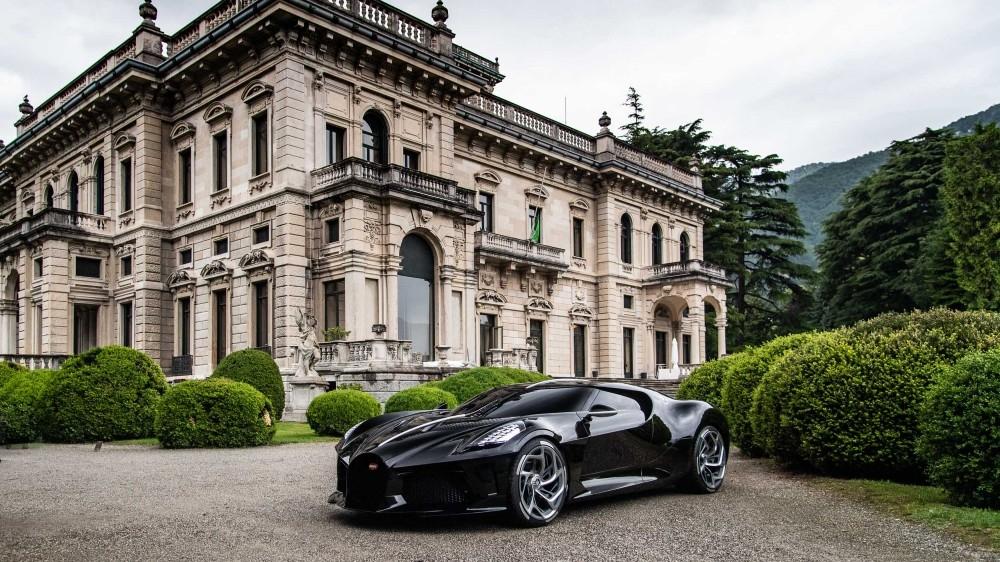 Bugattis präsentiert teuerstes Modell beim Concours d'Elegance in Kalifornien