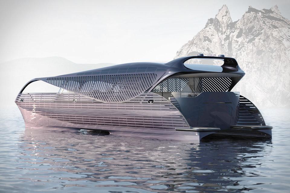 Die erste solarbetriebene Yacht der Welt von Solarimpact 1