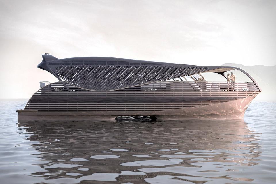 Die erste solarbetriebene Yacht der Welt von Solarimpact 3