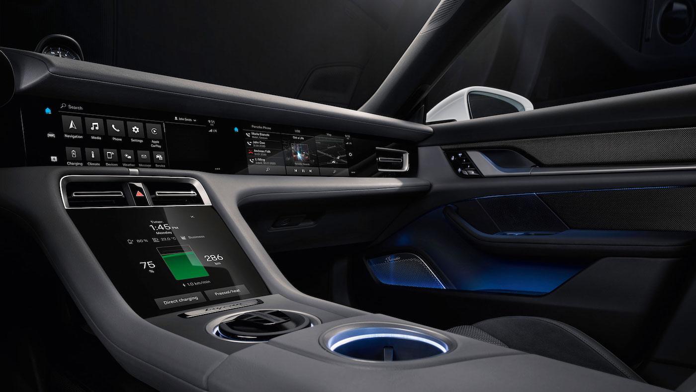 Digital, klar, nachhaltig: So sieht das Interieur des neuen Porsche Taycan aus 2