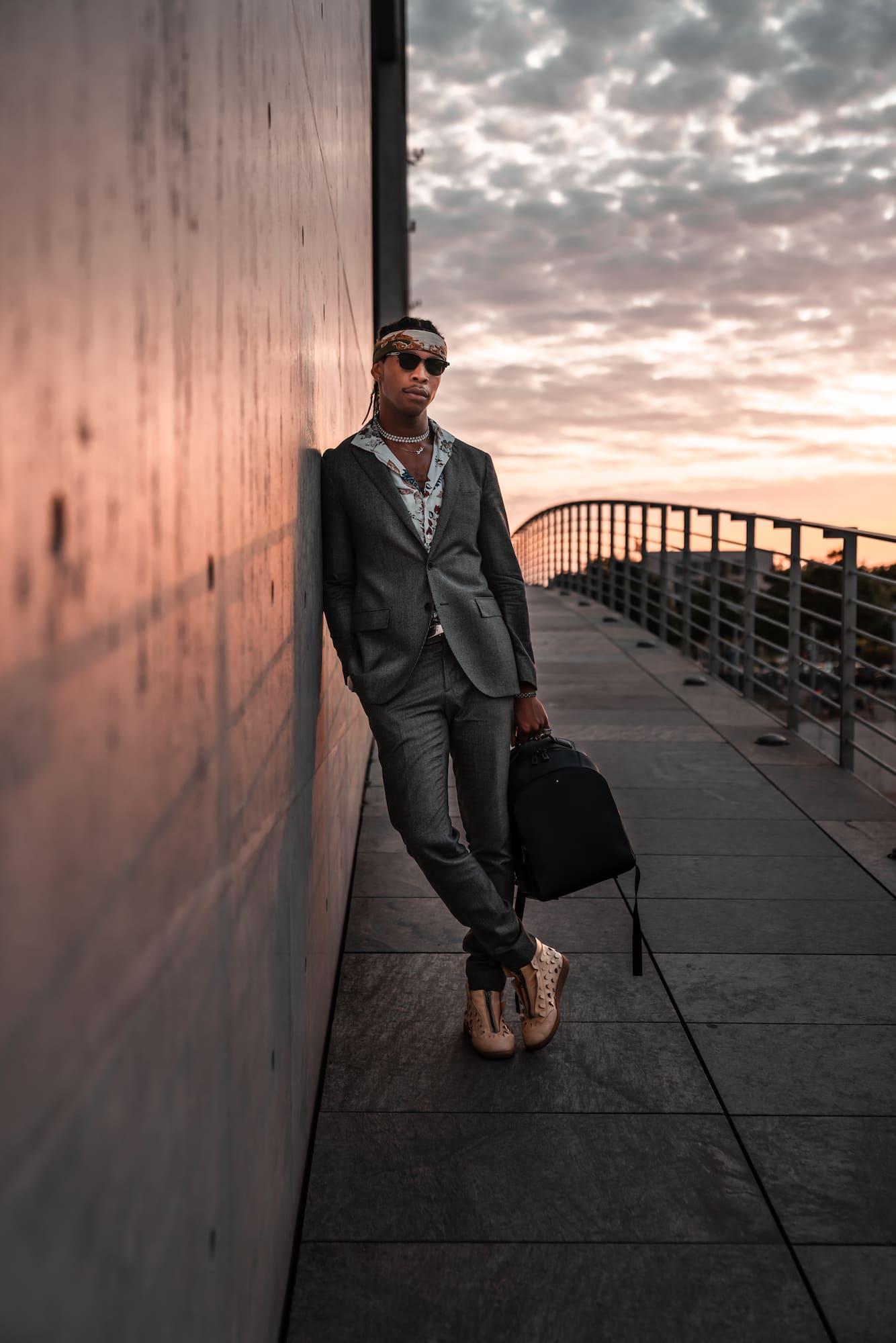Inspiring Clash mit Andrew VVarholla: Rapper, DJ und Model 12