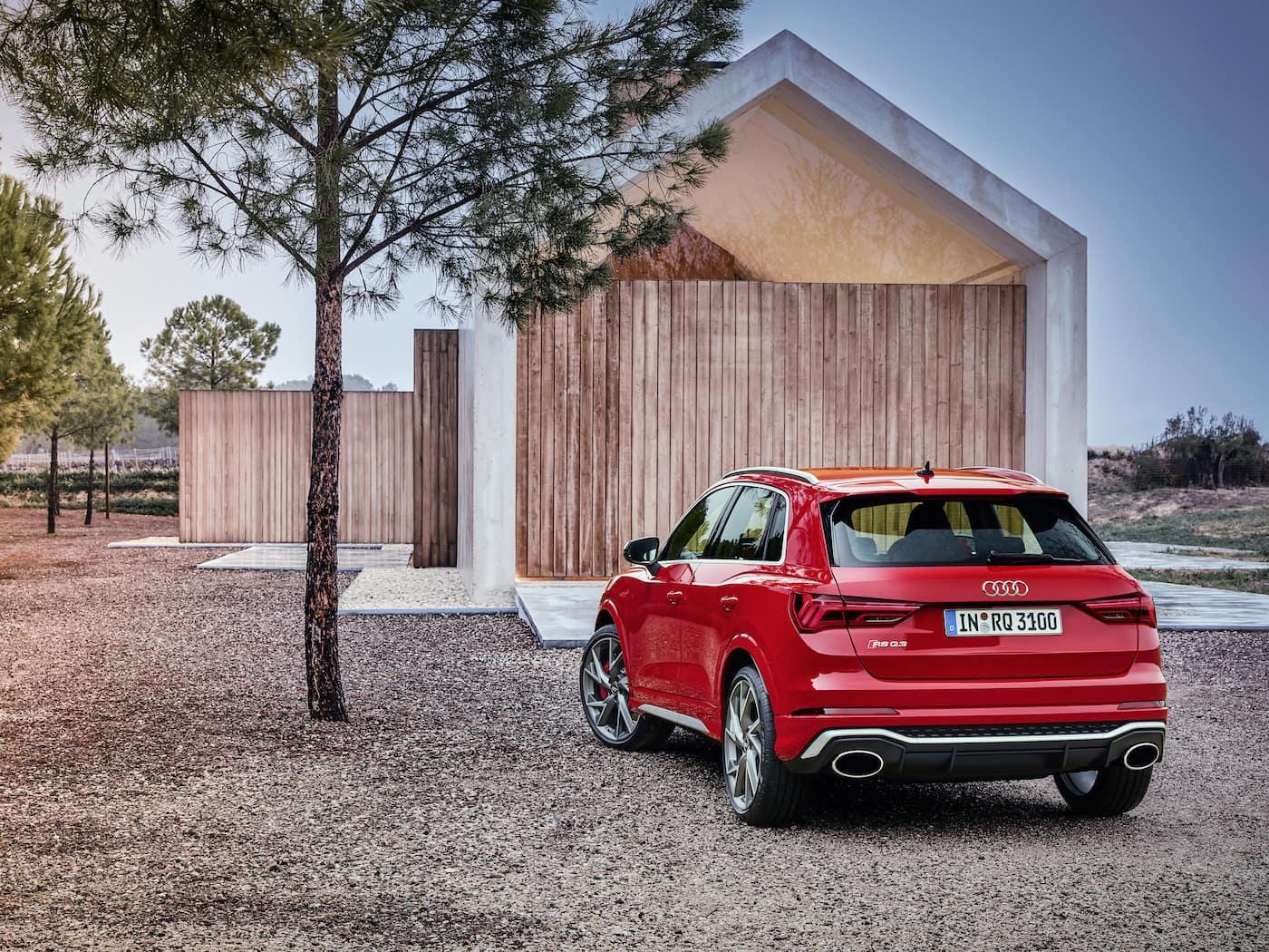 Kompakt und kraftvoll: Audi RS Q3 und Audi RS Q3 Sportback 7
