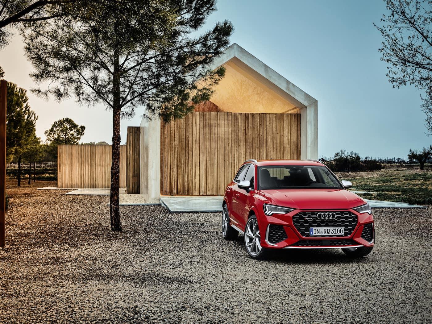 Kompakt und kraftvoll: Audi RS Q3 und Audi RS Q3 Sportback 11